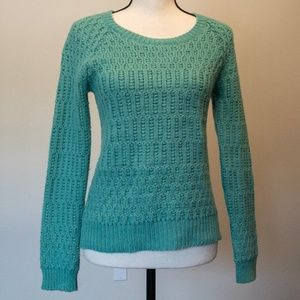 Anthropologie Sparrow Wool Blend Mint Sweater